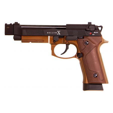 Pistolet Secutor M92 Bellum X Custom Co2 GBB Full Metal Noir - SAB001C