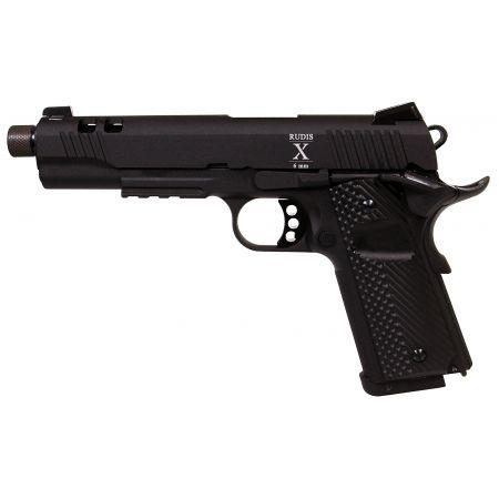 Pistolet Secutor Rudis X Acta Non Verba (1911) Co2 Noir - SAR0025