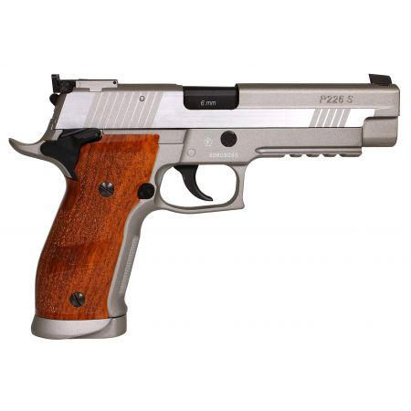Pistolet Sig Sauer P226 X-Five Hairline Co2 Stainless Full metal 280549