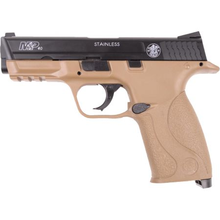 Pistolet Smith Et Wesson M&P40 KWC HPA Spring Kaki Bicolore 320119