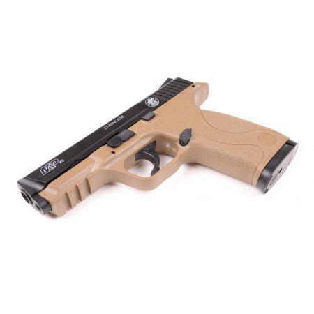 Pistolet Smith Et Wesson M&P40 KWC HPA Spring Kaki Bicolore 320119