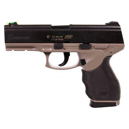 Pistolet Sport 106 DT Dual Tone Spring ASG Noir & Tan - 18913