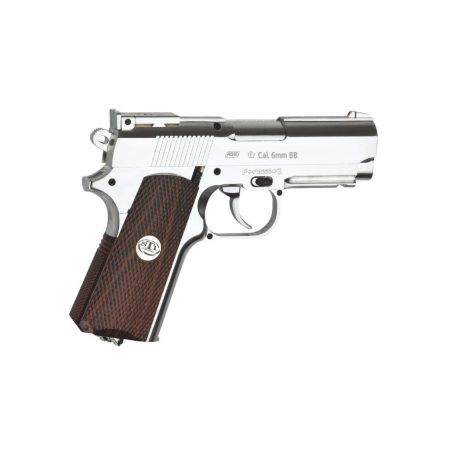 Pistolet STI Of Duty CO2 Chrome Avec Rail 17012