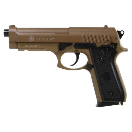 Pistolet Taurus PT92 PT 92 AF Spring HPA Culasse Metal - Tan Dersert Version - 210117