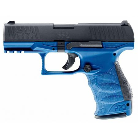 Pistolet VFC Walther PPQ M2 GBB Gaz Blowback Umarex Bleu & Noir - 26349