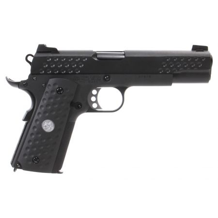 Pistolet WE 1911 Nighthawk KAC GBB Gaz Blowback Full Metal - Noir
