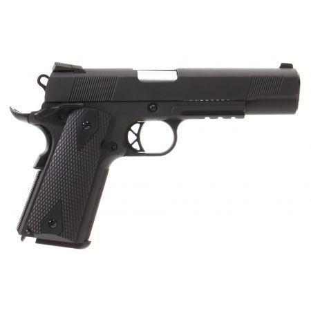 Pistolet WE Colt 1911 Kimber GBB Gaz Blowback Full Metal Noir - 500529