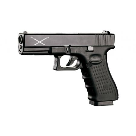 Pistolet WE GBB AKIRA G17 Gen 4 Gaz & Co2 - Culasse Metal & Blowback - Delta Tactics