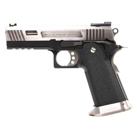 Pistolet WE Hi-Capa 4.3 Allosaurus GBB Gaz Blowback - Silver