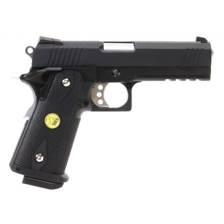 Pistolet WE Hi-Capa 4.3 GBB Gaz Blowback Full Metal - Noir