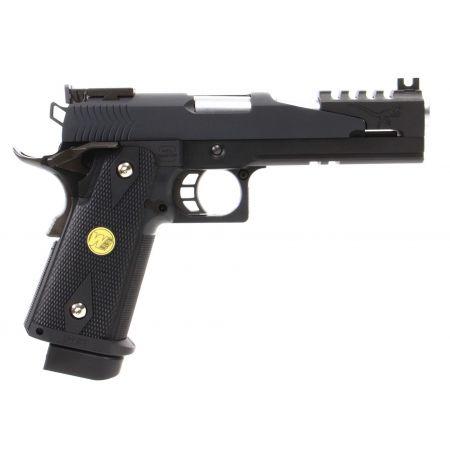 Pistolet WE Hi-Capa 5.1 Black Dragon (B) GBB Gaz Blowback - Noir