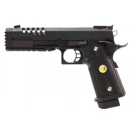 Pistolet WE Hi-Capa 5.2 version K GBB Gaz Blowback - Noir