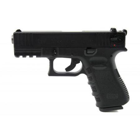 Pistolet WE ISSC Austria M22 Noir Gaz GBB Blowback - Culasse Metal -