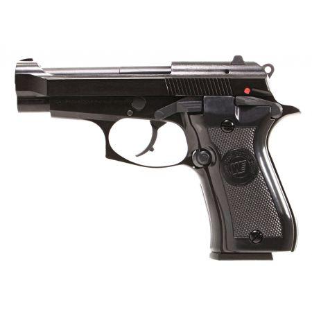 Pistolet WE M84 Cheetah Mini 92 GBB Gaz Blowback Full Metal - Noir