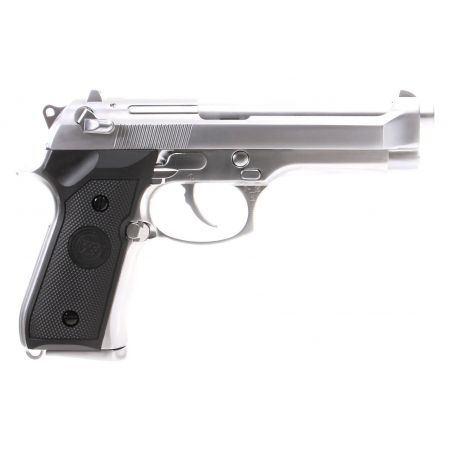 Pistolet WE M92 GBB Gaz Blowback Full Metal - Silver