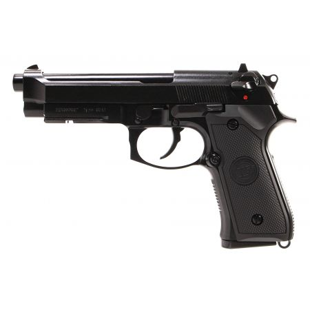 Pistolet WE M9A1 GBB Gaz Blowback Full Metal - Noir