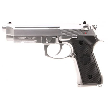 Pistolet WE M9A1 GBB Gaz Blowback Full Metal - Silver