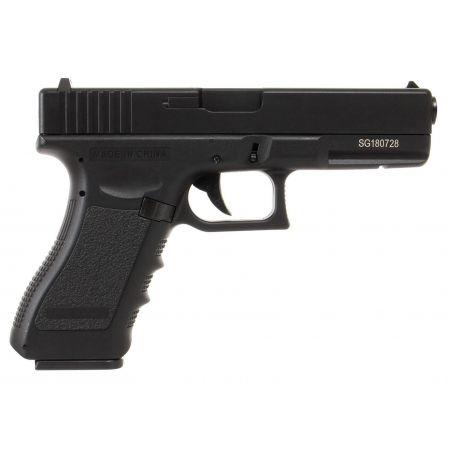 Pistolet Yakuza G18 LiPO AEP Saigo Defense - Noir
