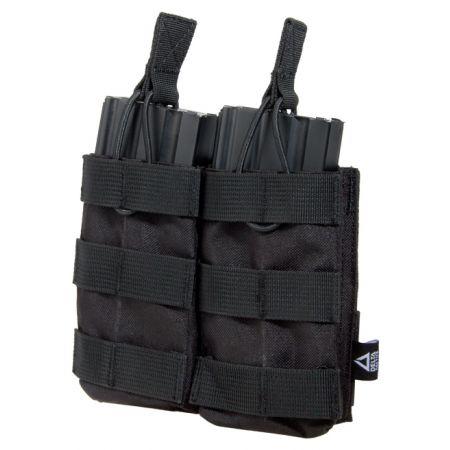 Poche Molle Double Porte Chargeurs M4 Noir - Delta Tactics