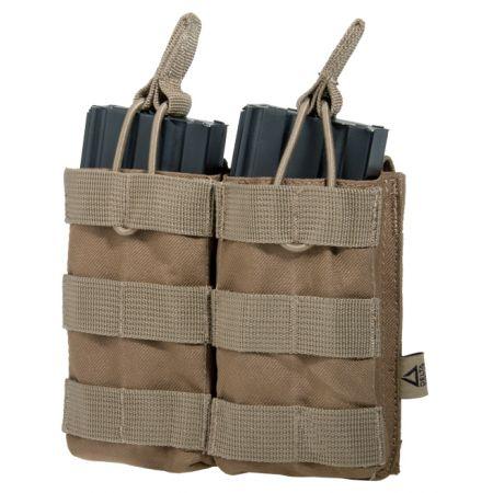 Poche Molle Double Porte Chargeurs M4 Tan - Delta Tactics