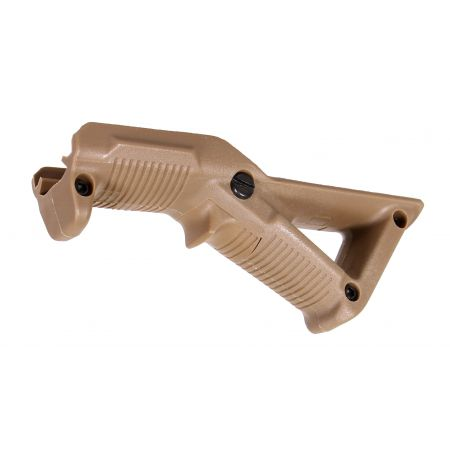 Poignée Angulaire Grip Triangulaire Tactique 45° Type Magpul - Tan