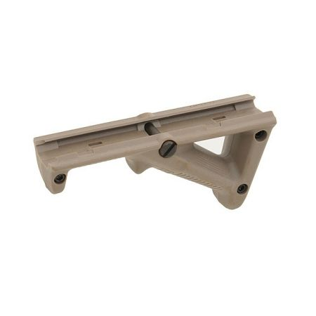 Poignée Grip Tactique 45° Angulaire Angle Triangulaire Tan - Airsoft