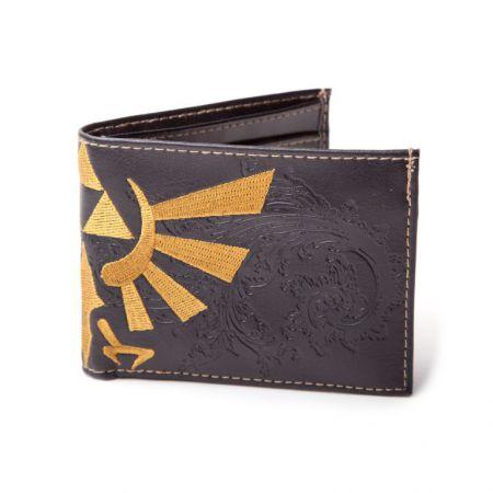 Portefeuilles Monnaie Noir Nintendo Zelda Twilight Princess Triforce - Noir - PD-PT-2367