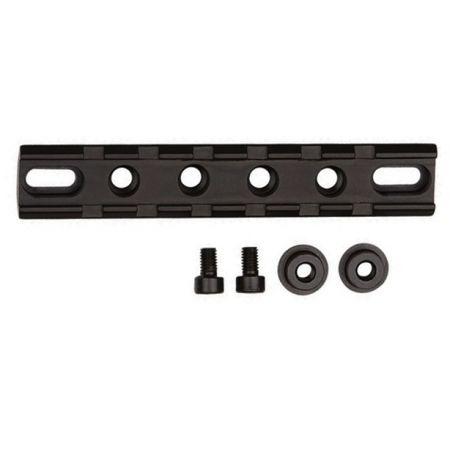 Rail Picatinny Metal (11cm) pour Garde Main M4 M15 M16 Noir ASG - 16932
