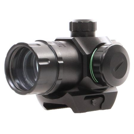 Red Dot Sight Tactical Compact Visée Point Rouge & Verte (25mm) Rail Picatinny - 263929