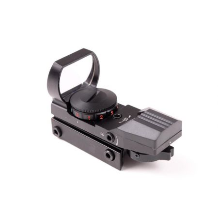 Red Dot Sight Visée Point Rouge & Verte Multi-Reticules (30mm) Rail Picatinny - 263916