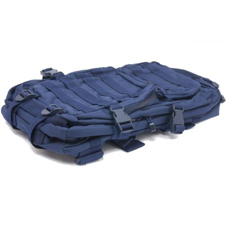 Sac à Dos Multipoches Survie US Assault Pack Dark Navy Blue & Fixation Molle Miltec