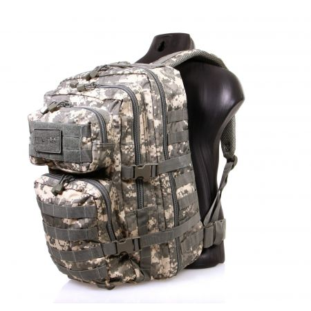 Sac à Dos Multipoches Survie US Assault Pack Digital & Fixation Molle Miltec