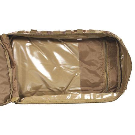 Sac à Dos Multipoches Survie US Assault Pack Mandra Tan & Fixation Molle Miltec