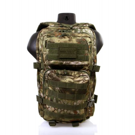 Sac à Dos Multipoches Survie US Assault Pack Mandra Wood & Fixation Molle Miltec