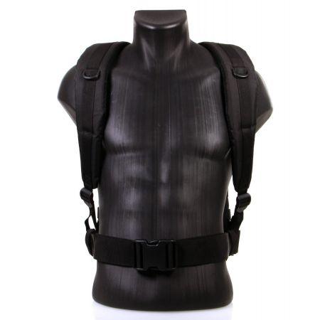 Sac a Dos Multipoches Survie US Assault Pack Noir & Fixation Molle Miltec