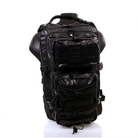 Sac à Dos Tactical US Assault Pack LG Molle Miltec Noir - 14002288