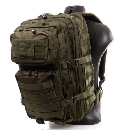 Sac à Dos US Assault Pack Survie Multipoches Olive - Miltec