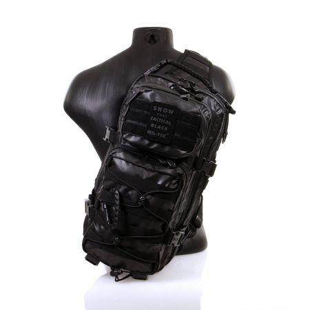 Sac Bandoulière Tactical US Assault Pack LG Molle Miltec Noir - 14059288