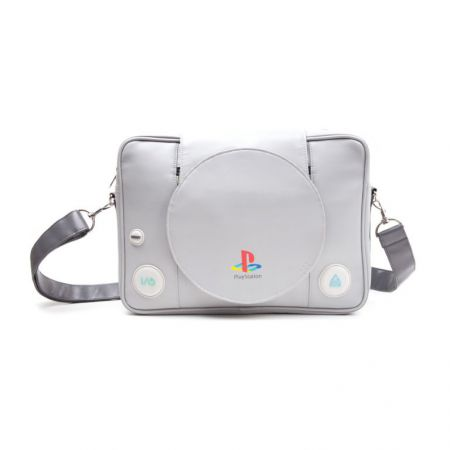 Sac Sacoche Bandoulière Similicuir Officiel Console Sony Ps1 Playstation 1