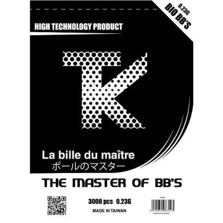 Sachet 3000 Billes (BBs) Bio 0.23g Tanio Koba TK - TK3023
