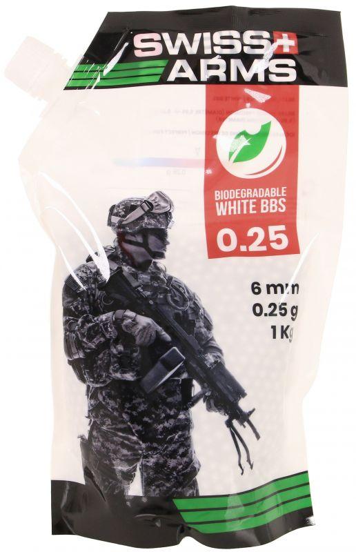 Sachet de 3350 Billes Bio 0.30 g Swiss Arms KA-BB-07-WH