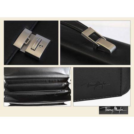 Sacoche thierry mugler porte document pc portable jeux video - Porte ordinateur portable ...