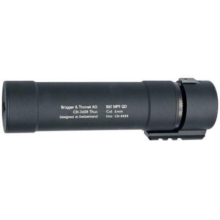 Silencieux Rotex MP9 QD Noir - ASG B&T Pour MP9 A1 A3 - 17260