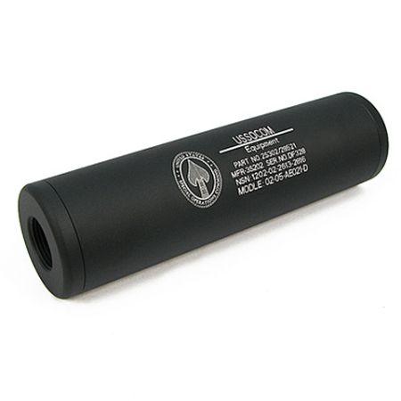 Silencieux US Socom King Arms Universel 110x30 - 14mm CW CCW - Noir