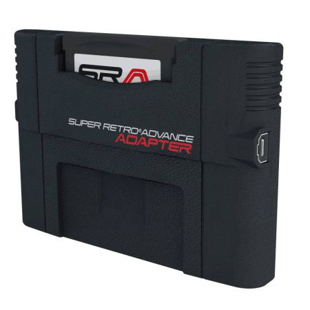 SRA - Super Retro Advance Adaptateur Jeux Game Boy Advance sur Super Nintendo & Retro Duo