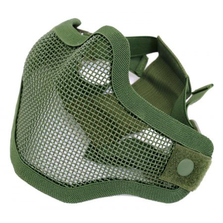 Stalker Masque Protection Grillage Bas Visage Invader Gear - Olive