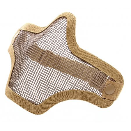 Stalker Masque Protection Grillage Bas Visage Swiss Arms Tan - 604520
