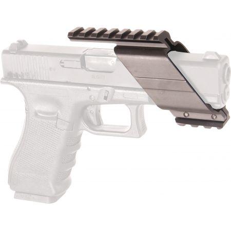 Support Metal Universel Pour Pistolet Replique De Poing Rail Picatinny 605222