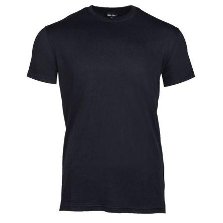 T-Shirt US Style Manches Courtes Miltec - Noir