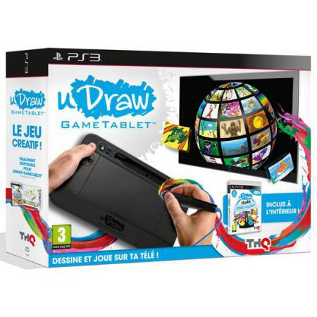 Tablette uDraw + jeu Udraw studio Ps3
